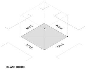 ISLAND-BOOTH
